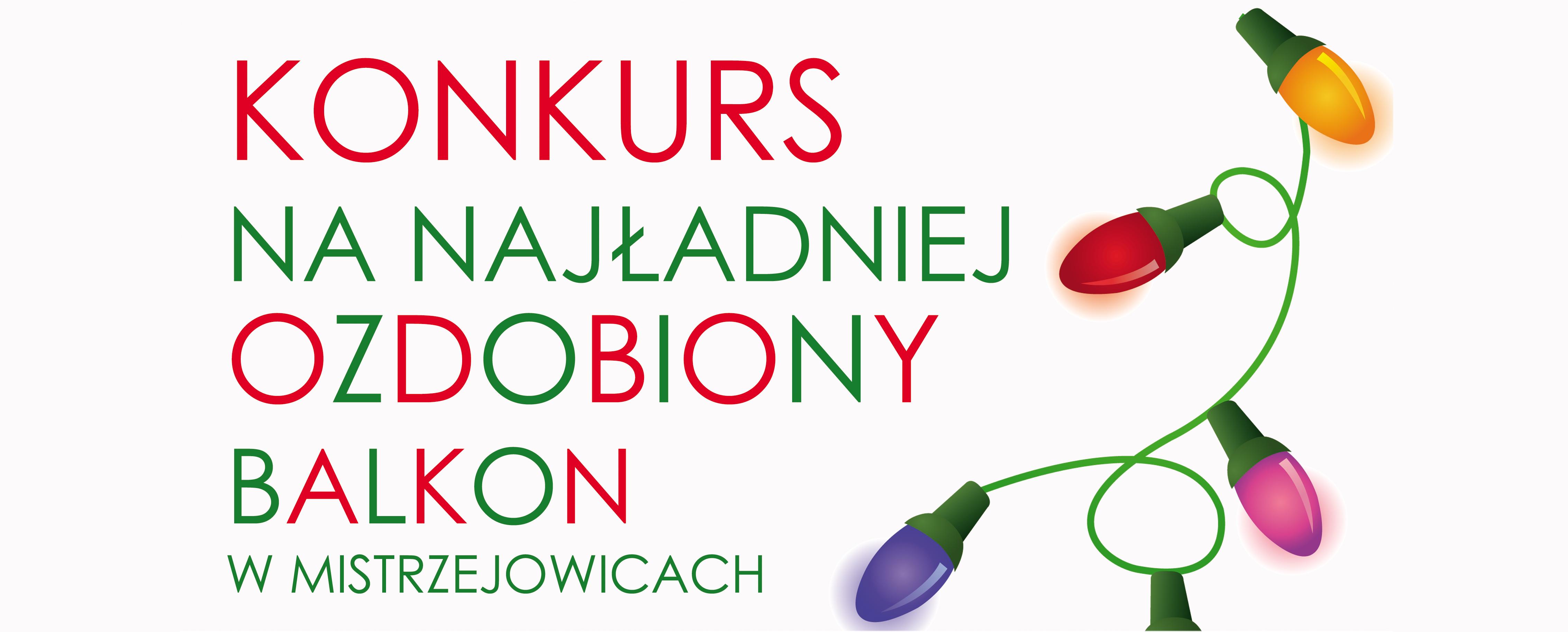 Konkurs na najładniej ozdobiony balkon w Mistrzejowicach