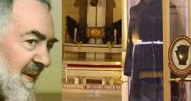 Relikwie św. o. Pio w Parafii św. Maksymiliana