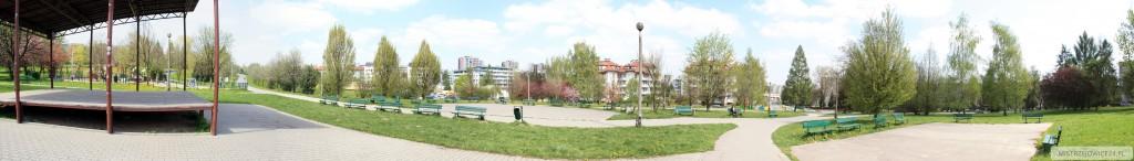 Panorama - planty Mistrzejowickie