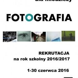 Rekrutacja na warsztaty fotograficzne w MDK