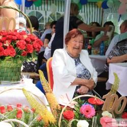 100. urodziny mieszkanki Mistrzejowic