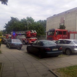 Interwencja strażaków na os. Oświecenia