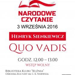 Narodowe czytanie: Quo vadis