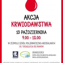Akcja Krwiodawstwa w Zespole Szkół Poligraficzno-Medialnych