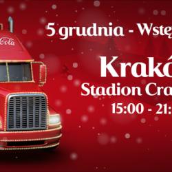 Świąteczna Ciężarówka Coca-Cola w Krakowie