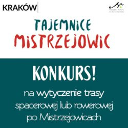 Konkurs na wytyczenie trasy spacerowej lub rowerowej po Mistrzejowicach