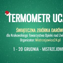 Termometr Uczuć - zbiórka darów w Mistrzejowicach