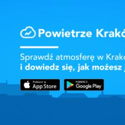 """Nowa aplikacja """"Powietrze Kraków"""", czyli o smogu w Krakowie"""