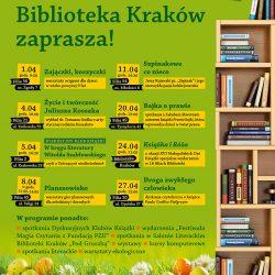 Wiosenna oferta Biblioteki Kraków