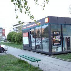 Mobilny FiberShop firmy Orange na os. Oświecenia
