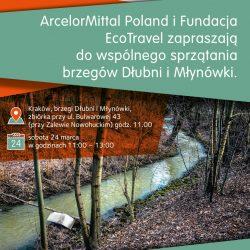 #CzystaDlubnia - sprzątanie Dłubni z ArcelorMittal Poland