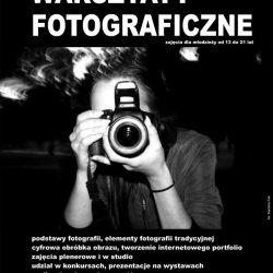 Zajęcia fotograficzne dla młodzieży - spotkanie informacyjne