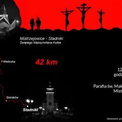 EDK 2019: trasa Św. Maksymiliana M. Kolbego (42 km)