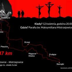 EDK 2019: trasa Sługi Bożego ks. Józefa Kurzei - pętla do Staniątek (48 km)