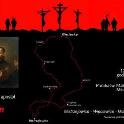 EDK 2019: trasa Św. Jakuba - pętla do Więcławic (25 km)