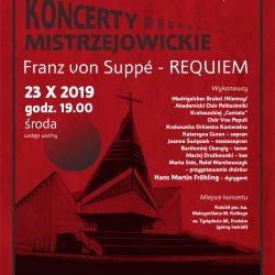 Franz von Suppé – REQUIEM // Koncerty Mistrzejowickie