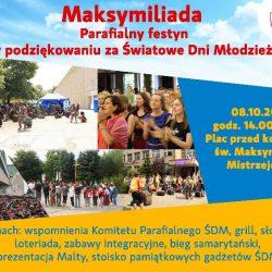 Maksymiliada - parafialny festyn w podziękowaniu za Światowe Dni Młodzieży