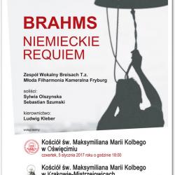 Koncerty Mistrzejowickie: J. Brahms - Niemieckie Requiem