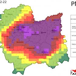 Jutro jest możliwe znaczne przekroczenie normy dobowej pyłu PM10