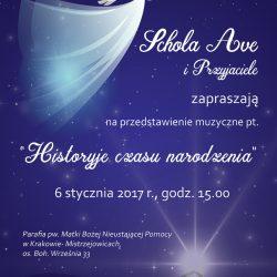"""""""Historyje czasu narodzenia"""" - musical Bożonarodzeniowy"""