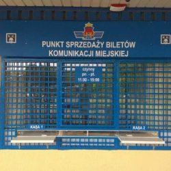 """Punkt Sprzedaży Biletów na pętli """"Mistrzejowice"""""""