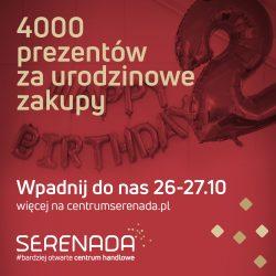 Serenada obchodzi 2. urodziny!