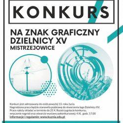 Konkurs plastyczny na znak graficzny (logo) Dzielnicy XV Mistrzejowice